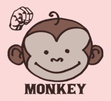 M is for  Monkey - ASL Baby Tee