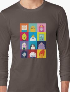 Adventure Characters Long Sleeve T-Shirt