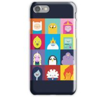 Adventure Characters iPhone Case/Skin
