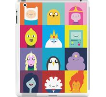 Adventure Characters iPad Case/Skin