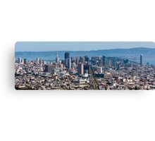San Francisco Panorama Canvas Print