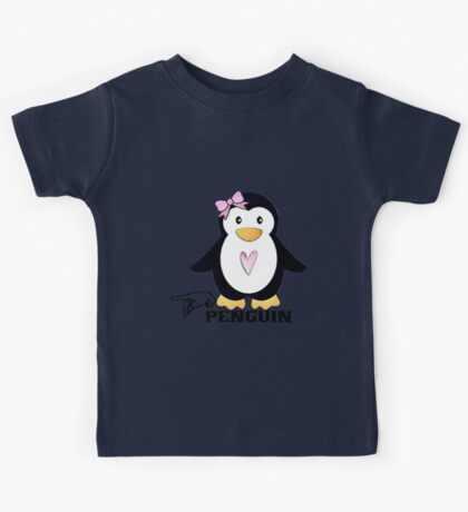 P is for Penguin -  ASL Kids Tee