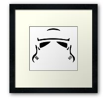 Trooper Framed Print