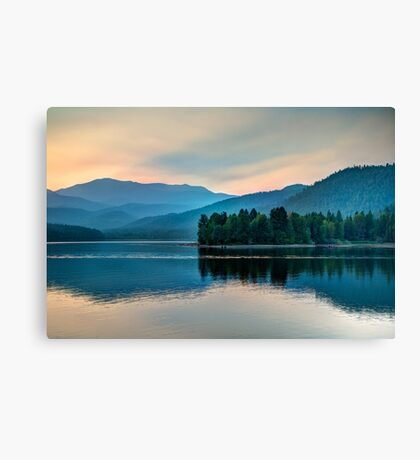 Sunset Over Lake Shasta (Limited Edition) Canvas Print