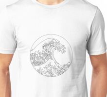 Minimalist Great Wave Unisex T-Shirt