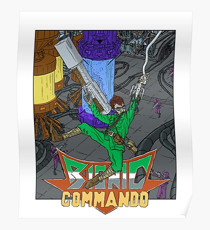 Bionic Commando - NES Tribute Series 1 Poster
