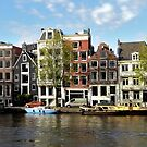 Late afternoon sunshine at Amsterdam by jchanders