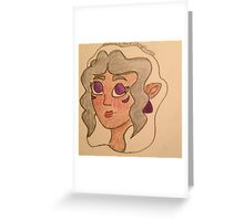 Princess Allura of Altea Greeting Card