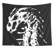 Skeleton Dragon Wall Tapestry