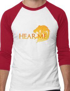Hear Me! Men's Baseball ¾ T-Shirt