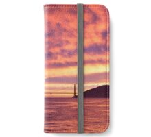 Golden Gate Bridge at Sunset iPhone Wallet/Case/Skin