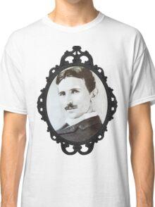 NikolaTesla Framed Classic T-Shirt