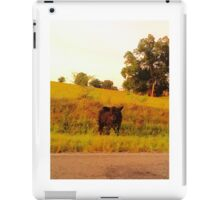 Cow On The Loose iPad Case/Skin