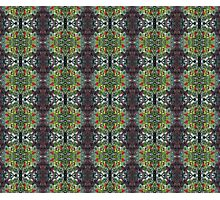 holly pattern Photographic Print
