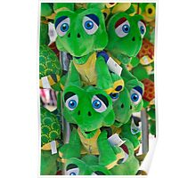 Blue Eyed Frogs Poster