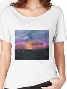 Beach Sun Set Women's Relaxed Fit T-Shirt