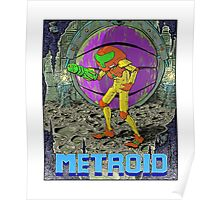 Metroid - NES Tribute Series 1 Poster