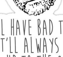 'Good Will' Gesture Sticker