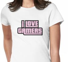 I Love Gamers Womens Fitted T-Shirt