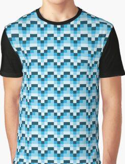 8-bit waterfall Graphic T-Shirt