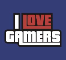I Love Gamers by DesignFactoryD