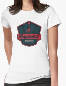 baywatch Womens Fitted T-Shirt
