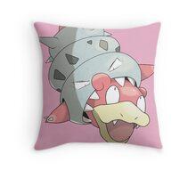 Mega Slowbro Throw Pillow