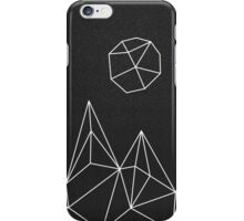Geometric Mountains #1 iPhone Case/Skin