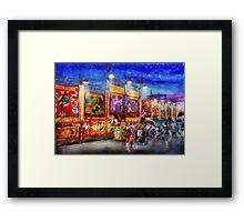 Carnival - World of Wonders Framed Print