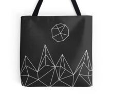 Geometric Mountains #1 Tote Bag