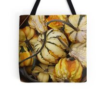 Gourds In A basket Tote Bag