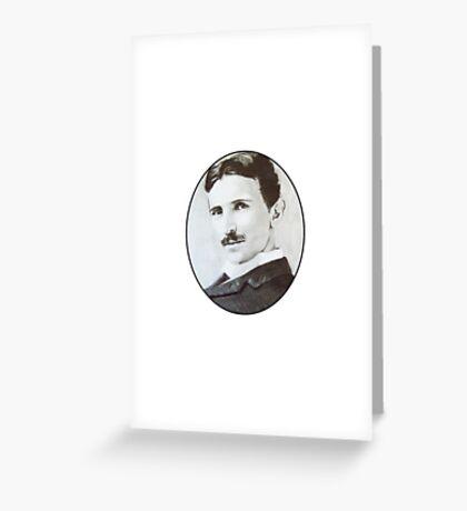 NikolaTesla Greeting Card