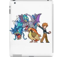 Trainer Blue Approaches! iPad Case/Skin
