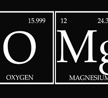 OMG Periodic Table  by raineOn