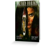 Acid Head: The Buzzard Nuts County Slaughter (2011)'. - Movie Poster Greeting Card