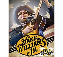 Hank Williams Jr. Live in Concert 2016 Photographic Print