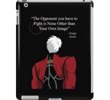 Archer Fate Stay Night Quote iPad Case/Skin