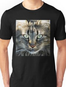 Multicolored Cat Face T-Shirt