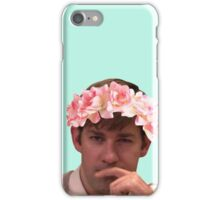 Jim Adorned with the Hottest of Flower Crowns iPhone Case/Skin