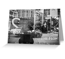 Urban Lifestyles: Through the Window Greeting Card