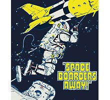Space Boarders Photographic Print