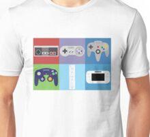 Nintendo Console Controllers Unisex T-Shirt