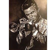 Jazz Trumpet Photographic Print