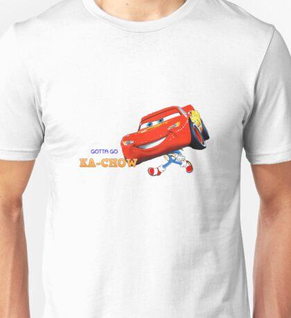 GOTTA GO KACHOW Unisex T-Shirt