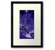 Rising Moon Framed Print