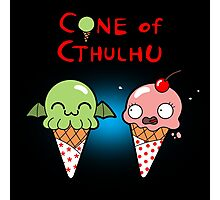 The Cone of Cthulhu Photographic Print