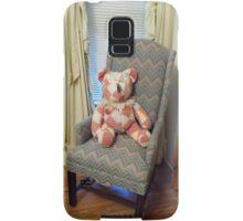 Teddy In His Chair Pillow Samsung Galaxy Case/Skin