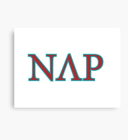 NAP Greek Logo Canvas Print