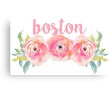 Boston University/Boston College Canvas Print