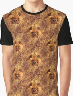 Shaggy Dog Face Graphic T-Shirt